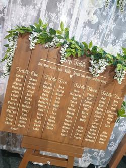 Rustic Board Table Plan