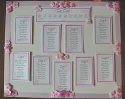 Cherry Blossom Table Plan