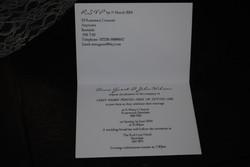 Burlap & Lace Standard Invite Inside
