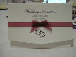 Entwined Pocket fold Day Invite