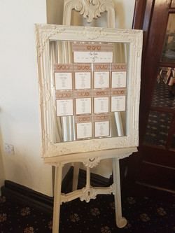 Rustic Heart Table plan