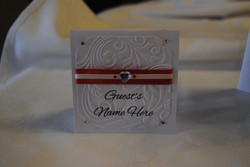 Dior Romance Name Card