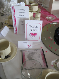 Entwined Table stationery