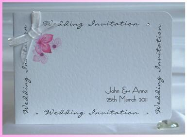 Cherry Blossom Standard Invitation