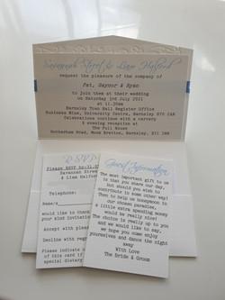 Elegant Peacock Pocket Fold Invitation