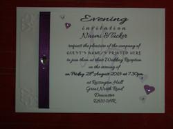 Dior Romance Double Postcard Invite