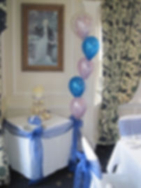 5 Balloon bouquet standard style top double bubble