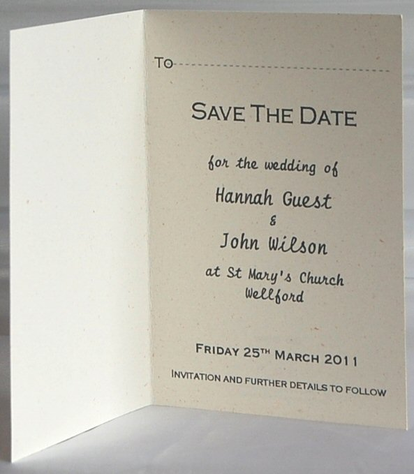 Paisley Save The Date Inside