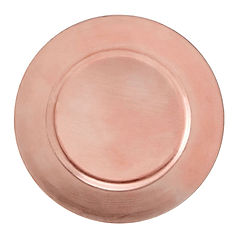 Rose Gold Charger Plate