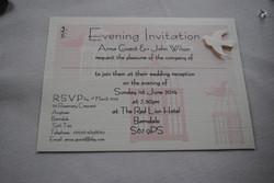 Birdcage Postcard Invitation