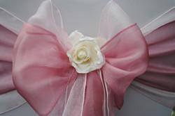 Cream Flower Clip