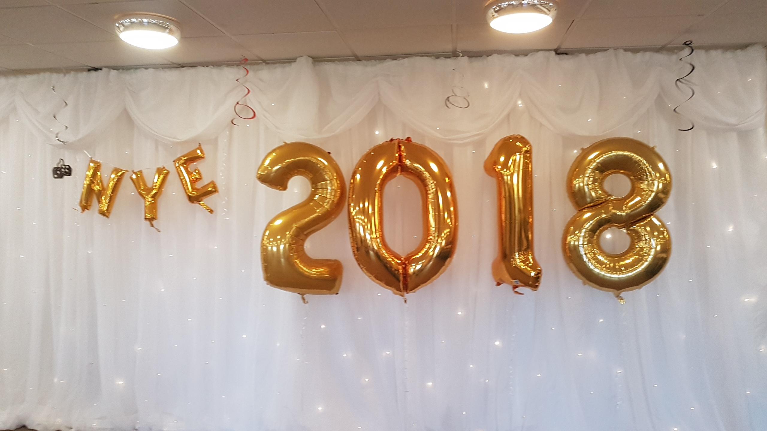 NYE 2018 Gold Foils