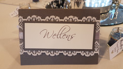 Scallop Lace Table Name