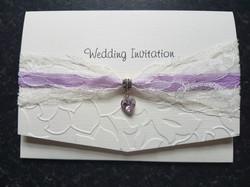 Pocket fold day invitation & droplet