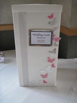 Flutter Butterfly Post Box