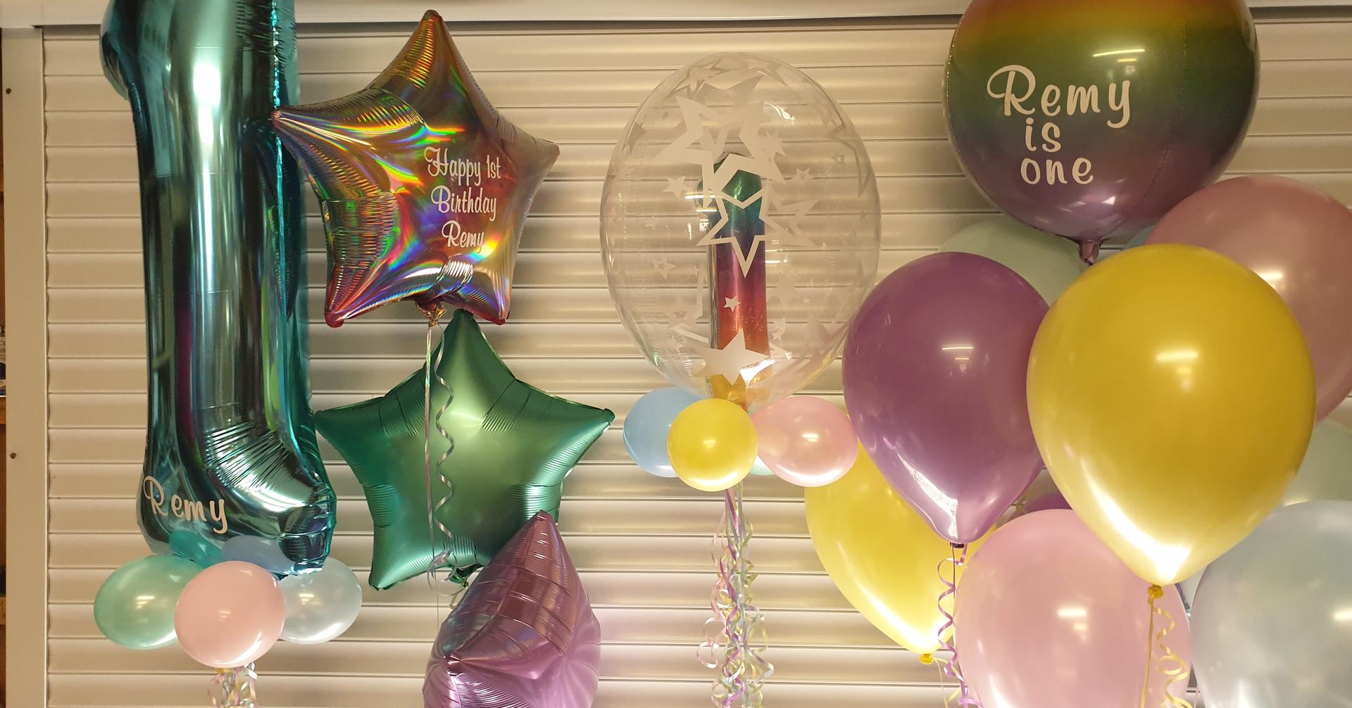 Ombre Orbz balloon