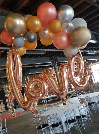 Hoop balloons for something different