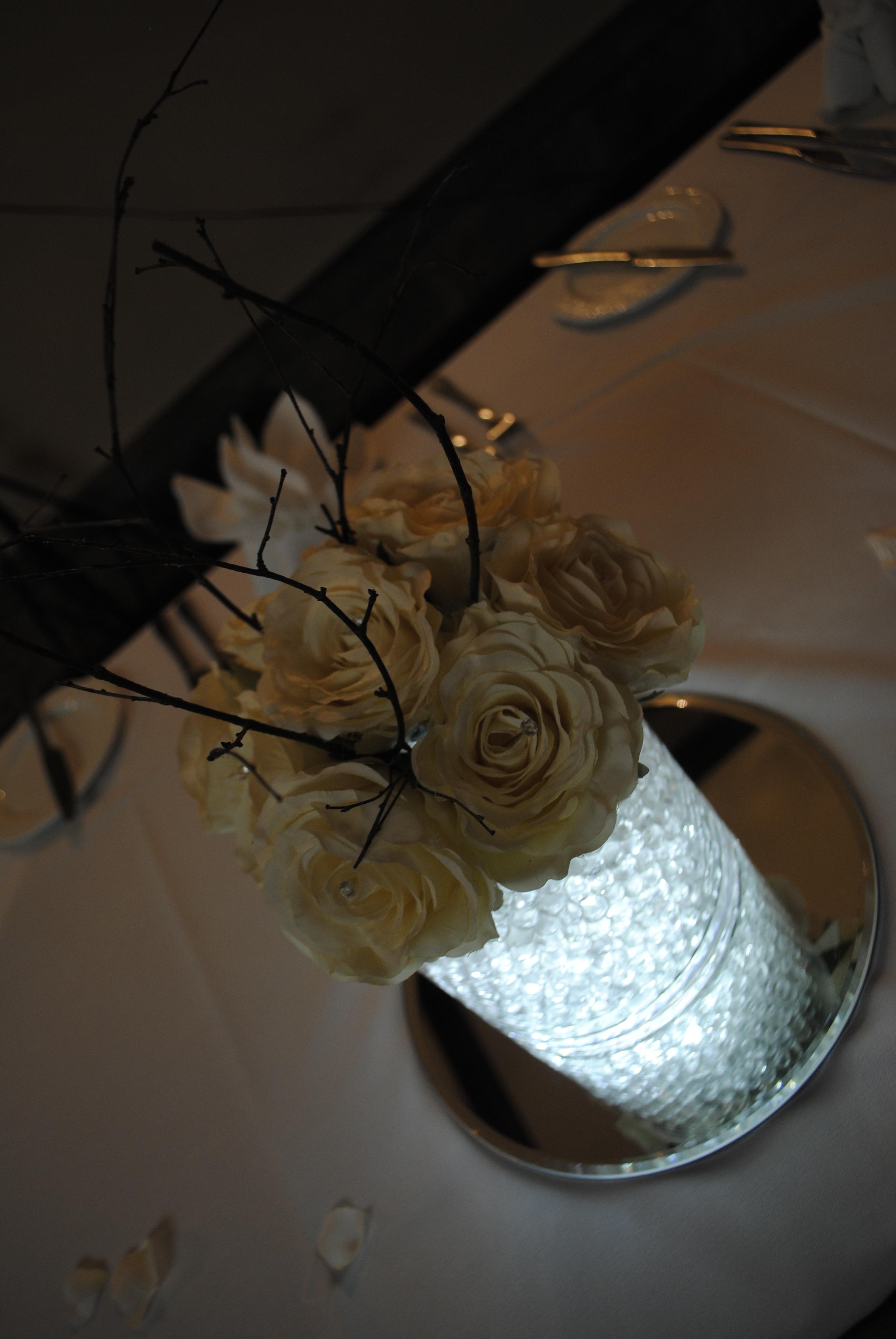 Short cylinder vase