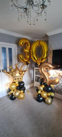 Gold & Black 30