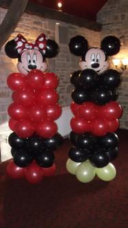 Minni & Mickey Columns
