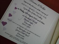 Dior Romance Square Pocket Invite