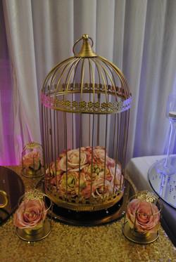 Gold Gilt Birdcage