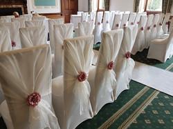 Ivory Hood Pink Flower, Wortley Hall