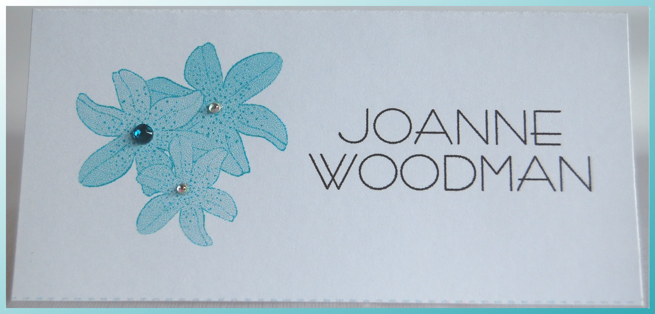 Tiger Lily Name Cards