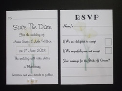 Calla Lace RSVP & Save the Date
