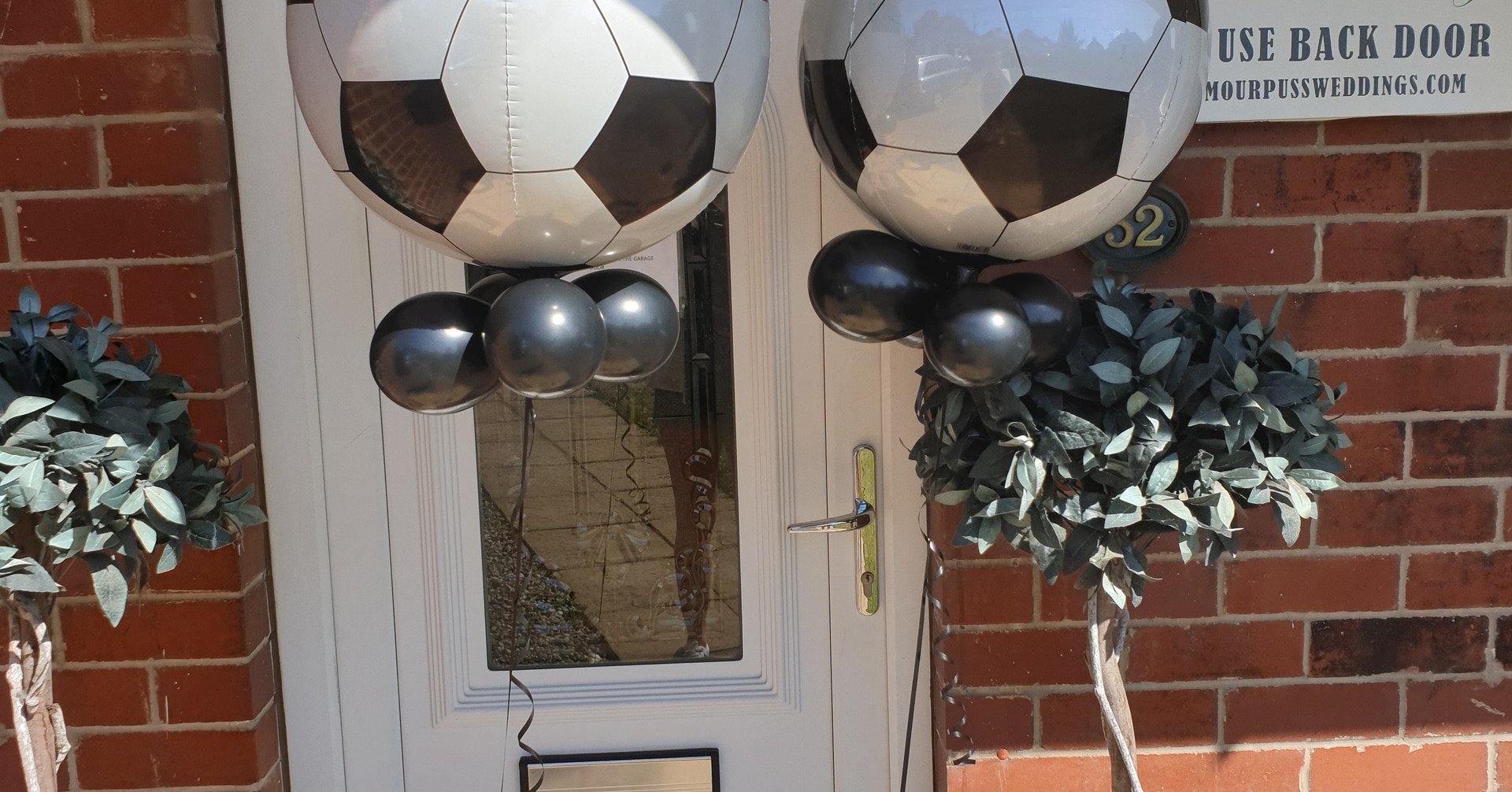 Football Orbz balloon
