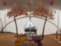 Blush pink 10.5 ft canopy blossom tree
