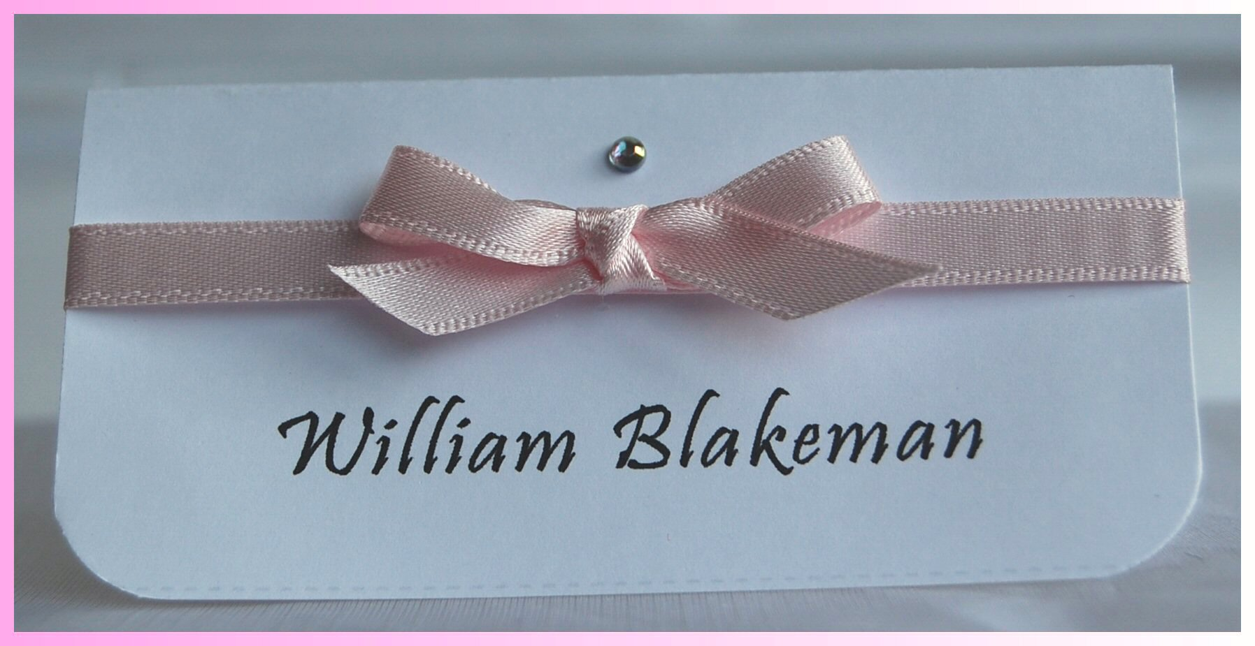 Blossom Name Card