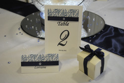Contemporary Name & Table Number