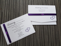 Entwined Day & Evening Invite Set