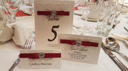 Dior Bow Red Table Setting