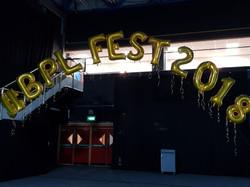 BPL FEST 2016 Gold Letters