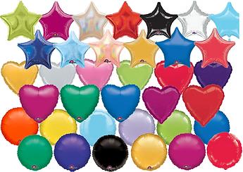 Foil single ballons