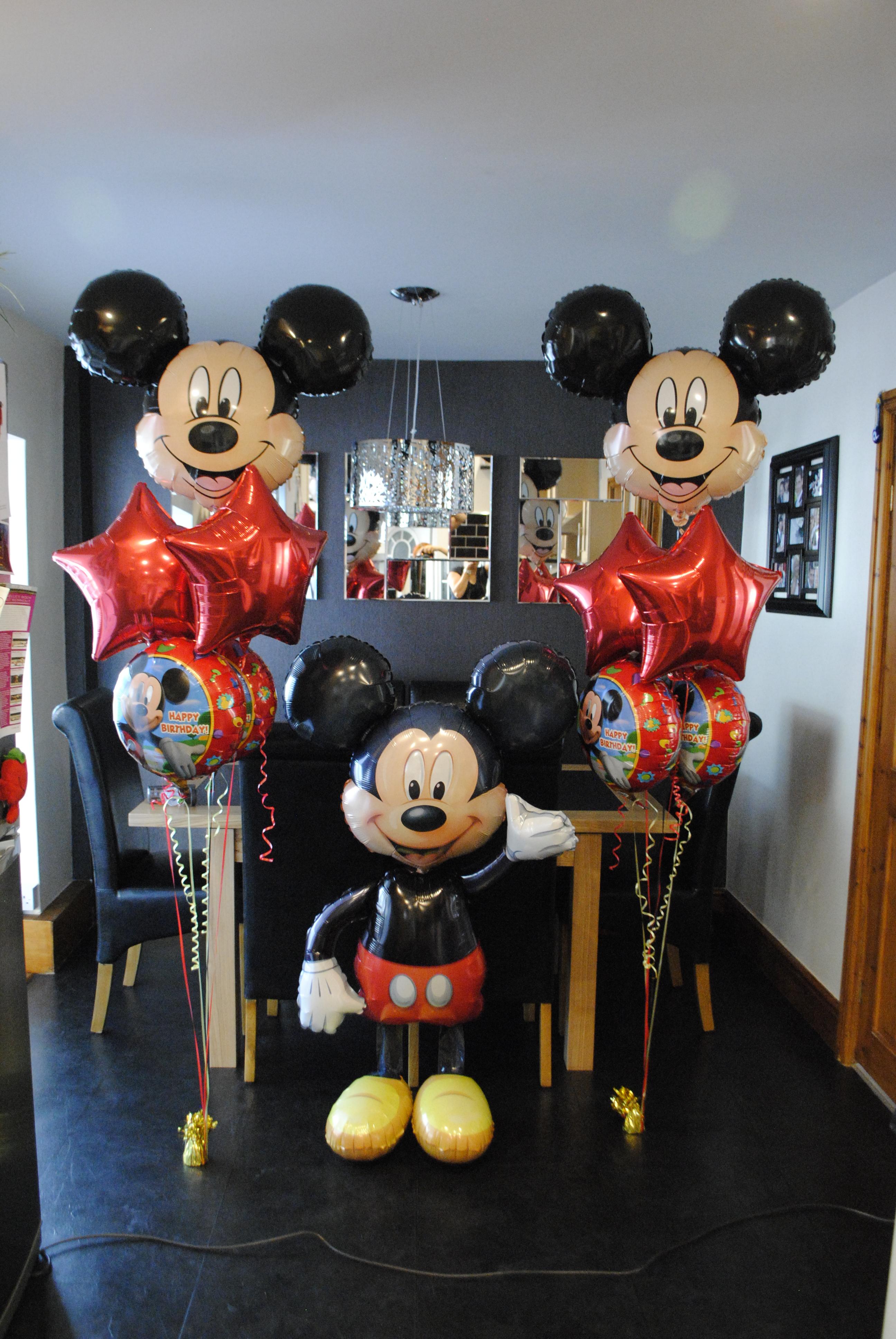 Mickey clusters & airwalker