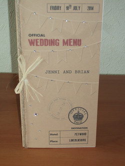 Ration Book Menu
