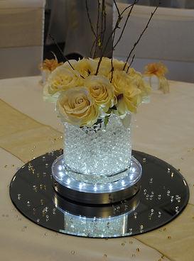 Short Cylinder Vase Hire