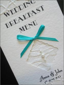 Lace Bow Menu