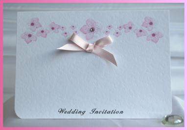 Blossom Standard Wedding Invitation