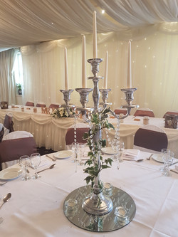 Candelabra with Ivy