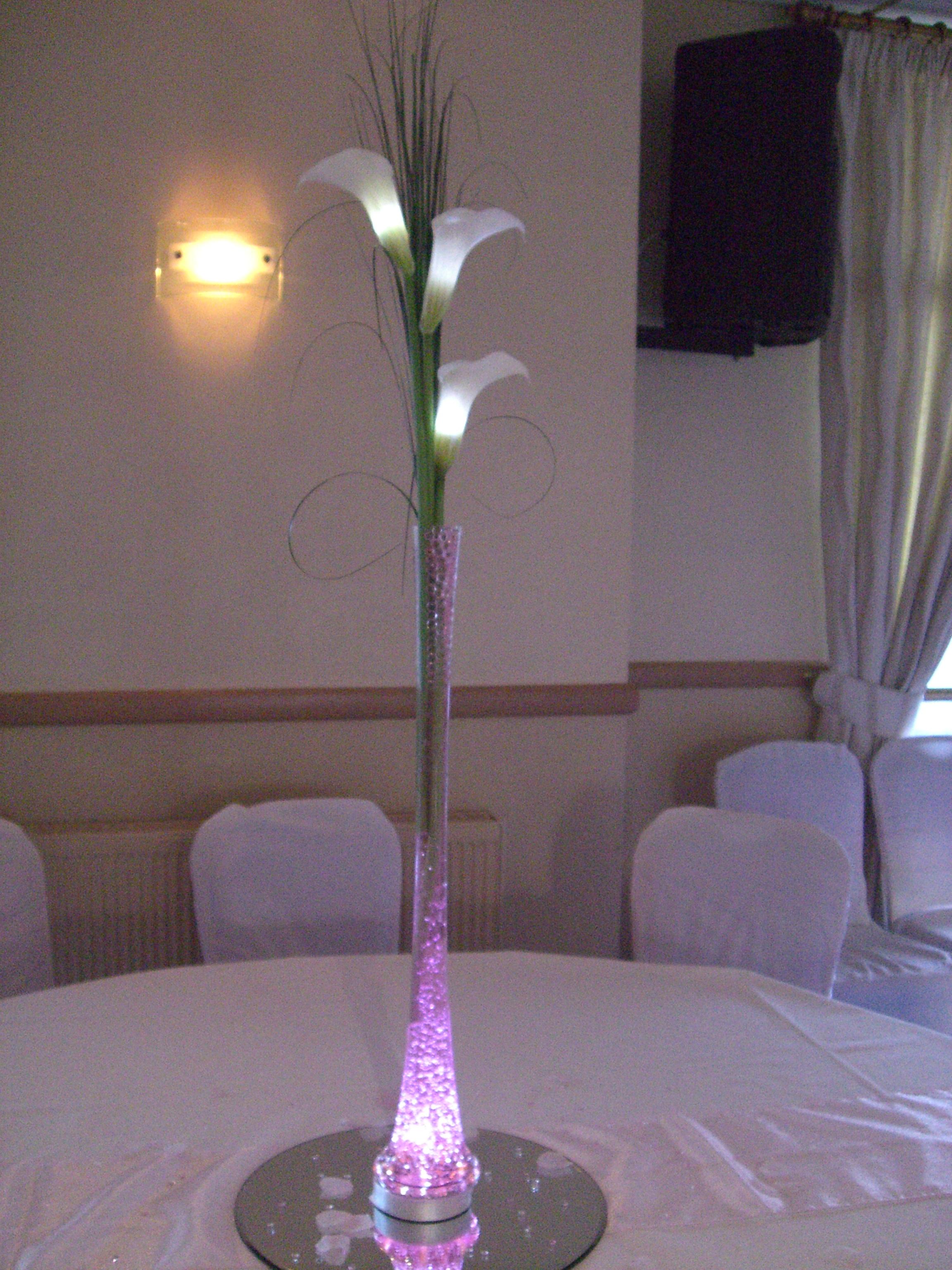 Trio of calla lily
