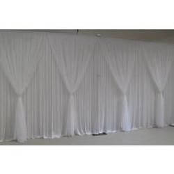 White Grecian Backdrop