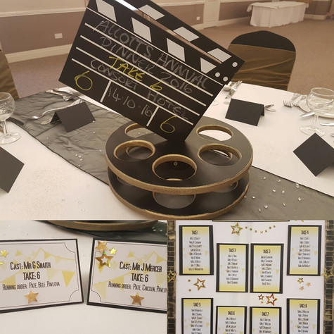 Movie Table Stationery