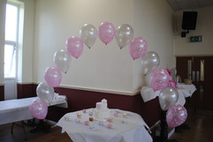 Christening Balloon Arch