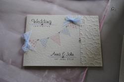 Bunting Standard Wedding Invitation