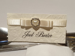 Dior Bow Name Card