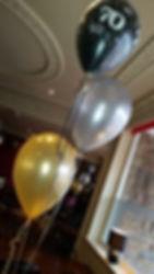 trio of balloons